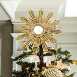 Venetian Tree Topper Burnished Gold - Ballard Designs