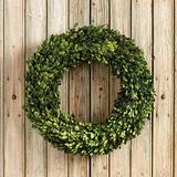 Preserved Boxwood Wreath - Ballard Designs