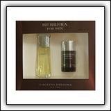 CAROLINA HERRERA by Carolina Herrera 3.4 oz EDT Spray 2 Piece Gift Set for Men