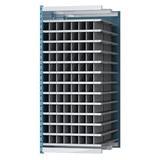 Hallowell Deep Bin Thirteen Shelf Shelving Unit Add-on Wire/Metal in Blue/Gray, Size 87.0 H x 36.0 W x 96.0 D in   Wayfair AHDB96-48PB
