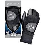 Orlimar Women's Winter Performance Fleece Golf Gloves (Pair), Black, Medium
