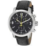 Tissot mens PRC 200 Stainless Steel Sport Watch Black T0554171605700