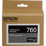 Epson T760 Matte Black Ultrachrome HD Ink Cartridge T760820