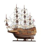 Old Modern Handicrafts Wooden Model Ship HMS Sovereign of The Seas, Multi