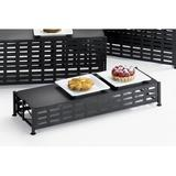 Cal-Mil Iron Display Riser & Stand Iron in Gray, Size 3.75 H x 21.0 W x 7.5 D in   Wayfair 1247-3
