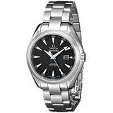 Omega Men's 231.10.34.20.01.001 Aqua Terra Ladies Automatic 34mm Analog Display Swiss Automatic Silver Watch