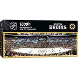 """MasterPieces NHL Panoramics 1000 Puzzles Collection - Boston Bruins NHL Panoramics 1000 Piece Jigsaw Puzzle, 13"""" x 39"""""""