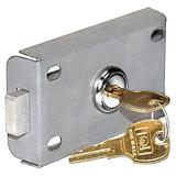 SALSBURY INDUSTRIES 2246 Master Commercial Lock,Letter Box,2 Keys