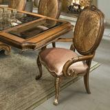 Benetti's Italia Chiara Upholstered Dining ChairUpholstered/Fabric in Brown, Size 46.0 H x 28.0 W x 29.0 D in | Wayfair Chiara Arm Chair