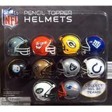 NFL Pencil Topper Helmets Vending Capsules