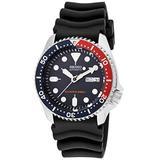 Seiko SKX009K1 Men's Scuba Diver Automatic Black Rubber Navy Blue Dial