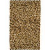 Surya Georgetown GEO-8003 Shag Hand Woven 100% New Zealand Wool Gold 5' x 8' Area Rug