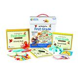 Learning Resources All Ready for First Grade Readiness Kit, Homeschool, 32 Page Guide Included, Ages 5+
