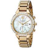 Seiko Women's SSC864 Solar Gold-Tone Stainless Steel Watch