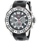 U.S. Polo Assn. Sport Men's US9403 Analog-Digital Display Analog Quartz Black Watch