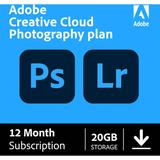 Adobe Creative Cloud Photography Plan with 20GB Cloud Storage (12-Month Subscript 65259312