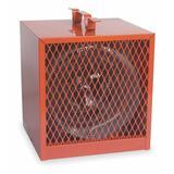 DAYTON 3VU35 Portable Electric Jobsite & Garage Heater, 4800W/3600W, 208/240V AC