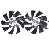Power Logic PLA09215B12H 12V 0.55A EVGA GeForce GTX 760 EVGA ACX Graphic Card Cooling a Set of 2pcs
