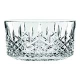 """Marquis By Waterford Markham 9"""" decorative Bowl, 9 inch, Clear Crystalline"""