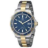 TAG Heuer Men's THWAK2120BB0835 Aqua Racer Analog Display Swiss Automatic Two Tone Watch