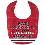 Infant WinCraft Atlanta Falcons Eat. Drink. Repeat. All-Pro Bib