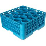Carlisle Food Service Products OptiClean NeWave 20 Compartment Glass Rack w/ 3 Extenders Plastic, Size 8.72 H x 19.75 W x 19.75 D in   Wayfair