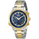 Invicta Men's Specialty 45mm Steel and Gold Tone Stainless Steel Chronograph Quartz Watch, Two Tone (Model: 19399)