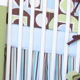 Brandee Danielle Modern Baby Boy Fitted Crib Sheet Cotton in White, Size 28.0 W in   Wayfair 175SHMBB