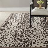 Safavieh Martha Stewart Collection MSR3621C Handmade Kalahari Wool & Viscose Area Rug, 8' x 10', Sequoia Brown