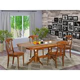5 Pc Dining set Dining Table and chair set having rectangular Table with Leaf and 4 Dining Chairs.