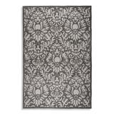 Brussels Easy Care Area Rug - Stone, 8' Round - Frontgate