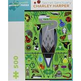 Charley Harper: Secret Sanctuary 500-Piece Jigsaw Puzzle (Pomegranate Artpiece Puzzle)