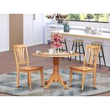3 Pc Kitchen nook Dining set-Kitchen Table and 2 Dining Chairs