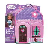 Neat-Oh! Everyday Princess ZipBin Doll Dollhouse Backpack & Doll Set, Multicolor