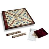 Giant Scrabble Deluxe Wood Edition by Winning Solutions, Multicolor
