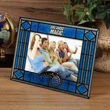 """Orlando Magic Royal Blue Art-Glass Horizontal Picture Frame"""