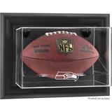 Seattle Seahawks Black Framed Wall-Mountable Football Display Case