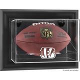 Cincinnati Bengals Black Framed Wall-Mountable Football Display Case