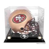 San Francisco 49ers Golden Classic Helmet Display Case with Mirrored Back
