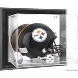 Pittsburgh Steelers Black Framed Wall-Mountable Helmet Display Case