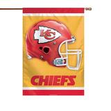 """Kansas City Chiefs Double-Sided 28"""" x 40"""" Banner"""