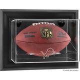 Detroit Lions Black Framed Wall-Mountable Football Display Case