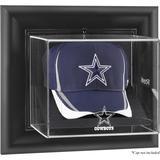 Dallas Cowboys Black Framed Wall-Mountable Cap Logo Display Case
