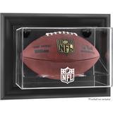 NFL Shield Black Framed Wall-Mountable Football Logo Display Case