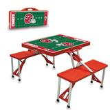 Kansas City Chiefs Picnic Table - Red