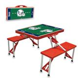 New England Patriots Picnic Table - Red