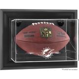 Miami Dolphins (2013-Present) Black Framed Wall-Mountable Football Case