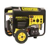 Champion 3500/4000 Watt Gas Powered Generator with Remote Kit