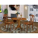 3 PC Kitchen nook Dining set-drop leaf Table and 2 Kitchen Chairs