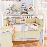 Brandee Danielle Fire Engine 4 Piece Crib Bedding Set Cotton/Cotton Blend | Wayfair 1334PFE
